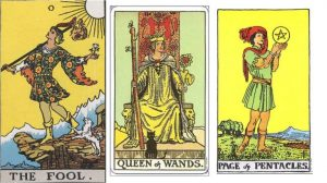 This deck is the well known Rider-Waite Tarot deck.